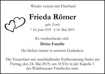 Frieda Römer
