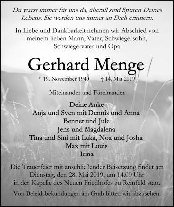 Gerhard Menge