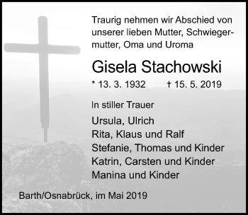 Gisela Stachowski