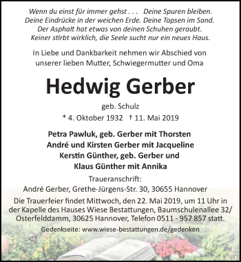Hedwig Gerber