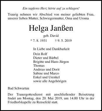 Helga Janßen