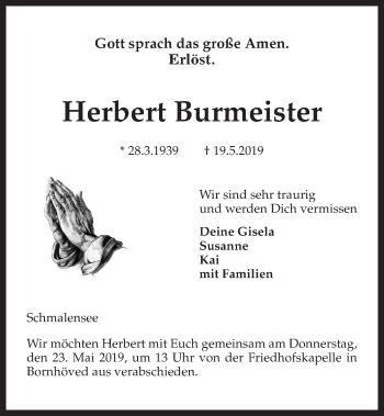 Herbert Burmeister