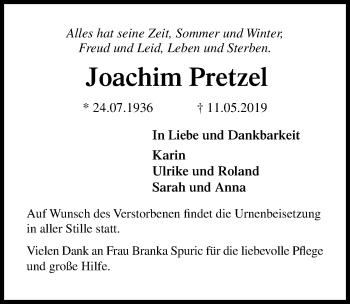Joachim Pretzel