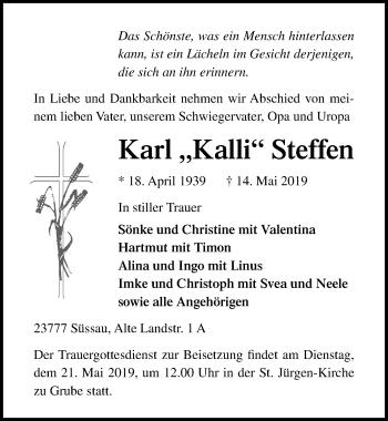 Karl Steffen