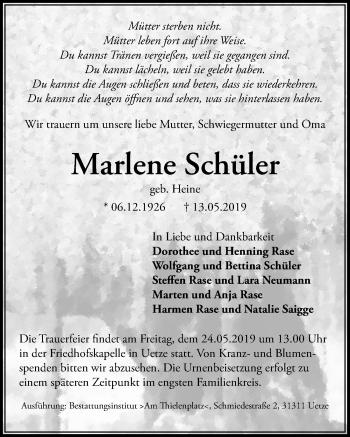 Marlene Schüler
