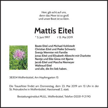 Mattis Eitel