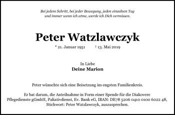 Peter Watzlawczyk
