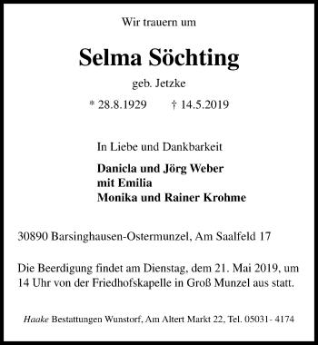 Selma Söchting