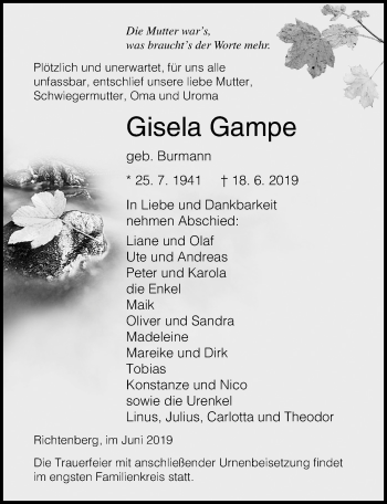 Gisela Gampe