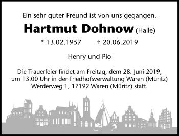 Hartmut Dohnow