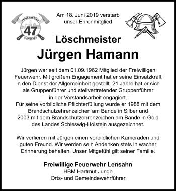 Jürgen Hamann
