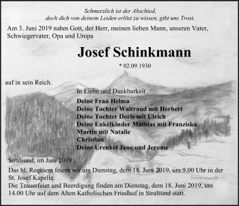 Profilbild von Josef Schinkmann