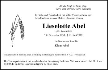Lieselotte Abel