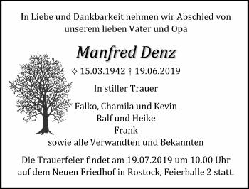 Manfred Denz
