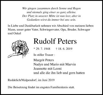 Rudolf Peters