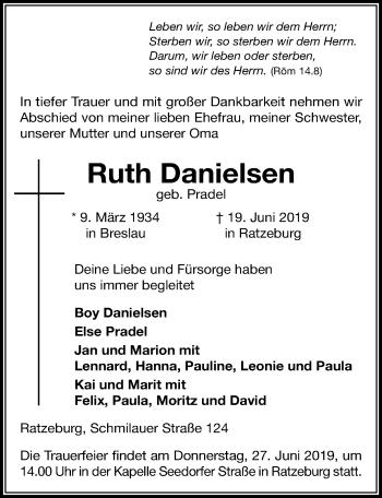 Ruth Danielsen