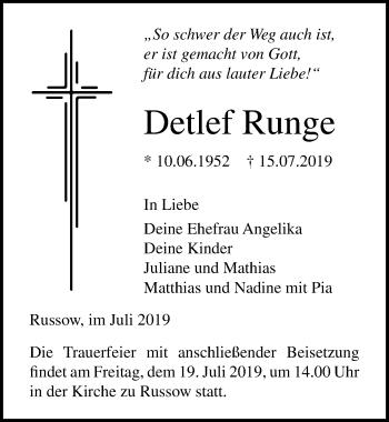 Detlef Runge