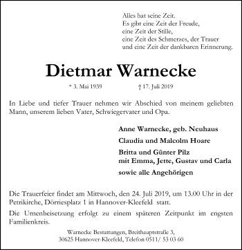 Dietmar Warnecke