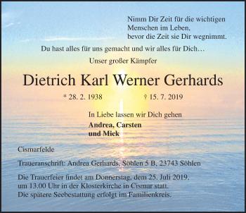 Dietrich Karl Werner Gerhards
