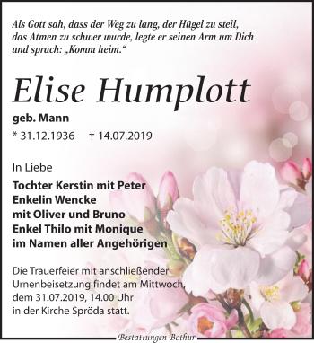 Elise Humplott