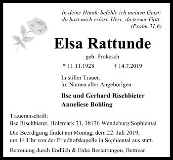 Elsa Rattunde