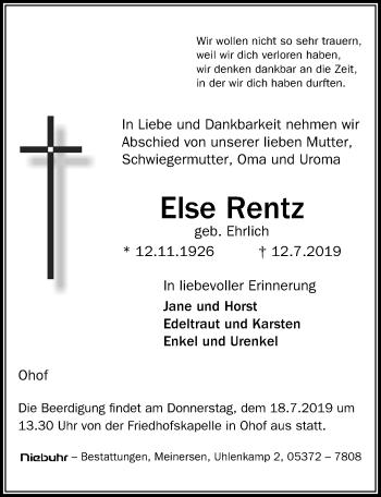 Else Rentz
