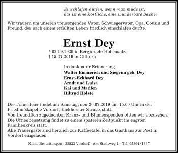 Ernst Dey