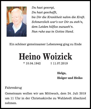 Heino Woizick