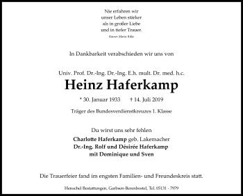 Heinz Haferkamp