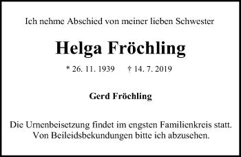 Helga Fröchling