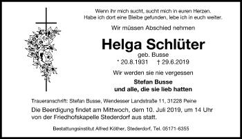 Profilbild von Helga Schlüter