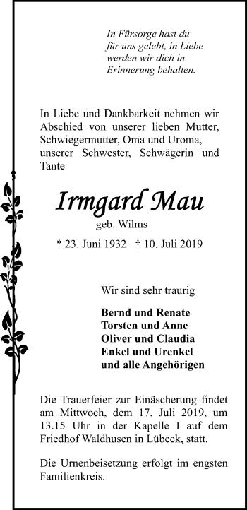 Irmgard Mau