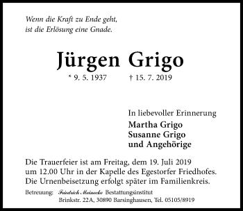 Jürgen Grigo