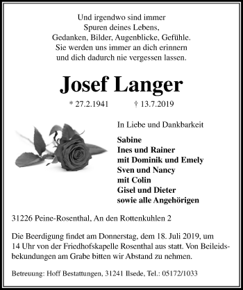 Josef Langer