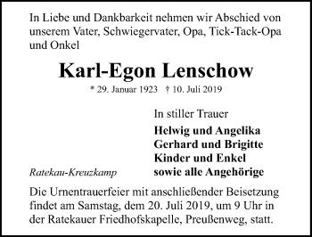 Karl-Egon Lenschow