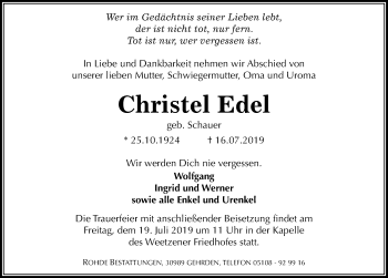 Christel Edel