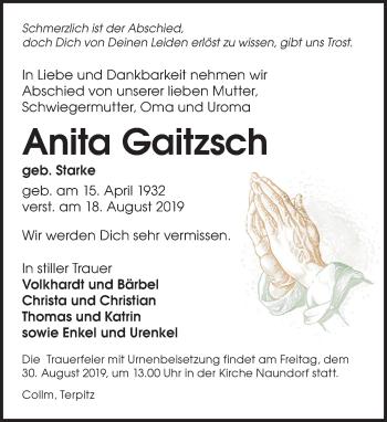 Anita Gaitzsch
