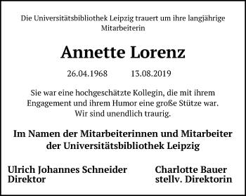 Annette Lorenz