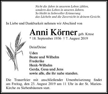 Anni Körner