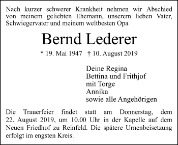 Bernd Lederer