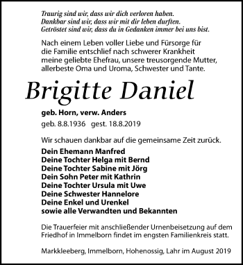 Brigitte Daniel