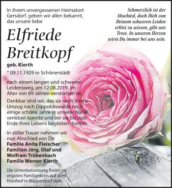 Elfriede Breitkopf