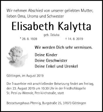 Elisabeth Kalytta