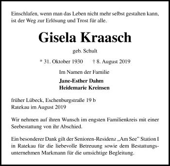 Gisela Kraasch
