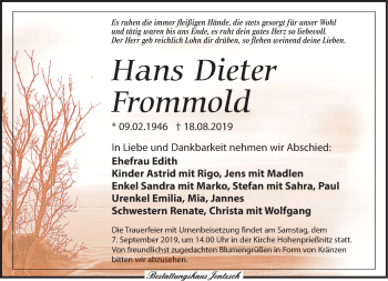 Hans Dieter Frommold