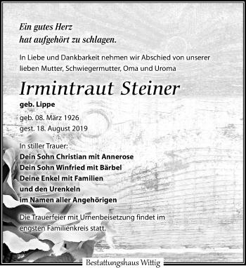 Irmintraut Steiner