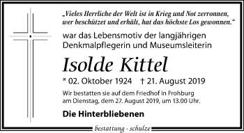 Isolde Kittel