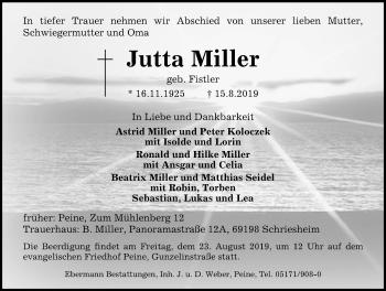 Jutta Miller