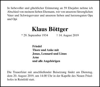 Klaus Böttger