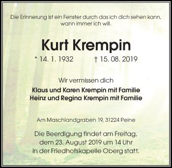 Kurt Krempin